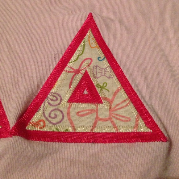 tops tri delta custom sorority letters