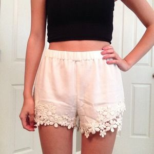 Pants - NWT White Shorts