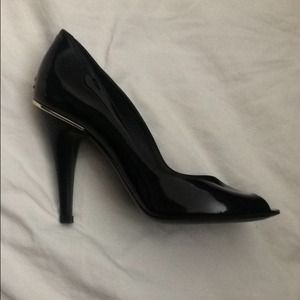 Chanel patent leather pumps