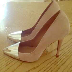 Zara captoe pumps