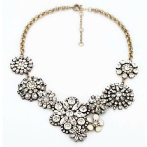 Brand New Crystal statement necklace. Available:5