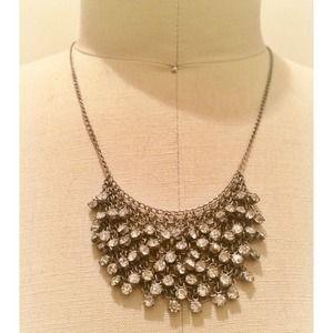 J.CREW Rhinestone Bib Necklace! 
