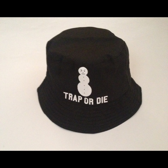 aa2ad99fc903e Accessories - Trap or Die Snowman Bucket Hat