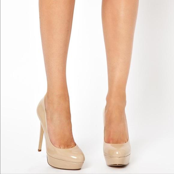 ALDO - • Aldo Monier nude tan platform pumps heels • from Amber&39s