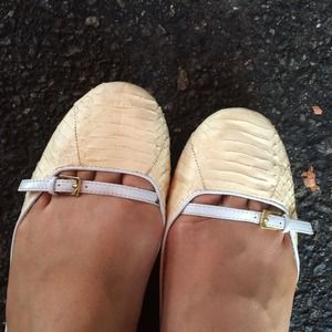 SAM EDELMAN 8.5 FLATS SHOES LIKE NEW