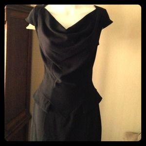 HP Beautiful peplum dress by Closet size 4