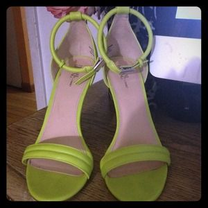 Prabal Gurung for Target Ankle Strap Pump Lime