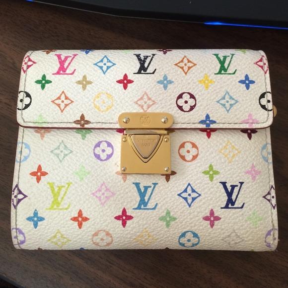 dddae385b82a1 Louis Vuitton Handbags - Authentic Louis Vuitton Multicolor wallet