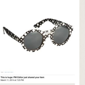PM EDITOR PICK! Pilotto B/W Sunnies
