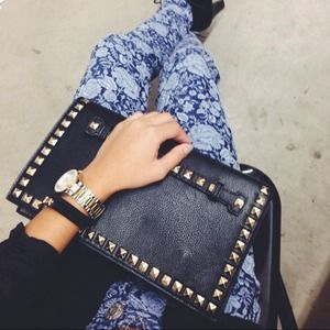Bags - Studded clutch/purse 1