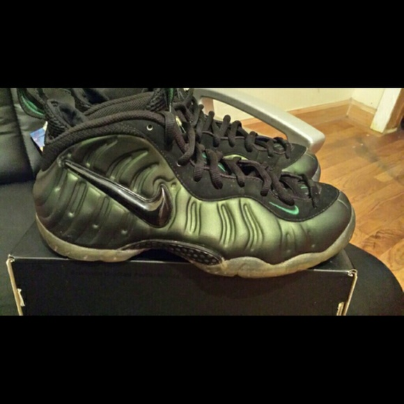 6eebb491d067c foamposite Shoes -   REDUCEDDD   Pine green foamposites