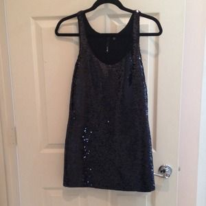 Joe's Jeans black sequined dress