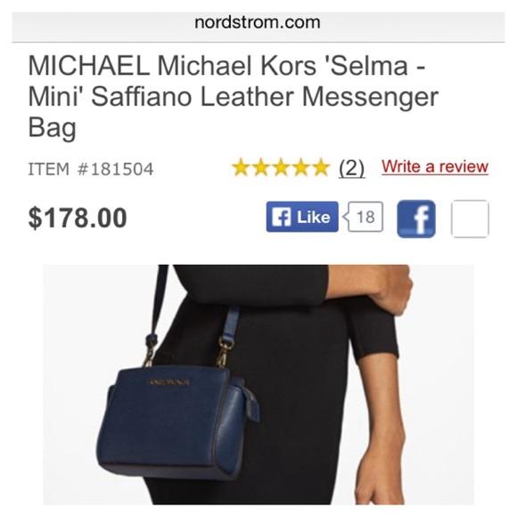 b4dfeb5210 Michael Kors Mini Selma Messenger Bag. M 53c6e17ade4f285a55303e2a