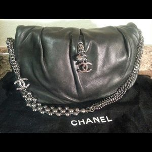 *Collector's Item*Chanel Lambskin CC Logo Flap Bag