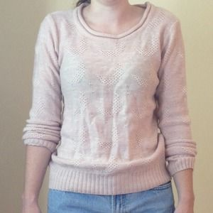 Light Pink Moon Sweater