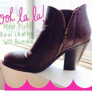 SOLD IN A BUNDLE HP!!! Guess booties