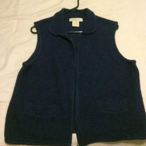 APPLESEED'S Jackets & Blazers - Appleseed's wool vest
