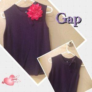 GAP Sleeveless Sweater - Purple