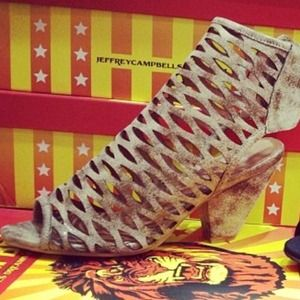 Jeffrey campbell produce 2 mesh shoes
