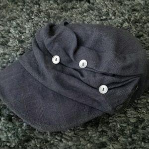 NWOT DeLux Button Hat