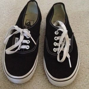 Vans Shoes - Authentic classic black Vans