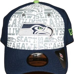 fd0a3c98bdee8 new era Accessories - New era draft day Seattle Seahawks flex fit hat
