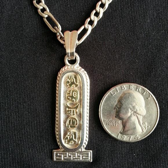 Oro maya jewelry sold silver gold mayan pendant slvr chain poshmark m53c82480e381dc055806286b aloadofball Image collections