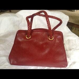 584fa1708015 Desmo Bags - Desmo Italian Red Leather vintage purse! NWT   bag