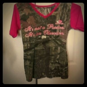 REDUCED!! Mossy oak camo shirt