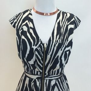 H&M Dresses & Skirts - Zebra Print Dress