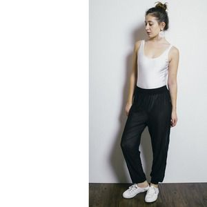 American Apparel Pants - Black mesh pant