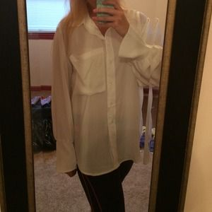Tops - Brand new White Button Down Shirt