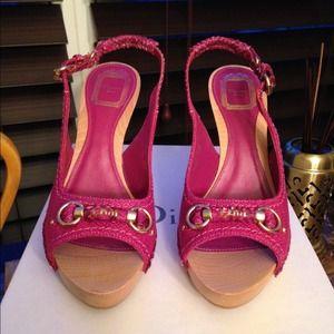 💯 AUTH Christian Dior Slingback Sandal