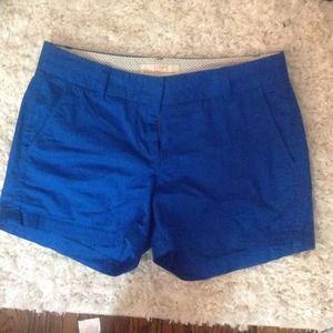 """J crew 4"""" chino shorts"""