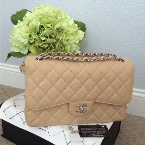 78a3322da2353c CHANEL Bags | Sold On Tradesyauthentic Jumbo | Poshmark