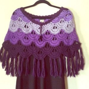 Dress and Poncho - selling combo