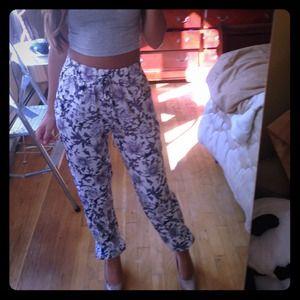 Pants - Printed pants