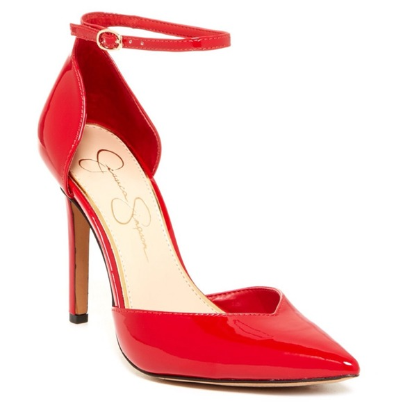 42ad4b74e35 Jessica Simpson Shoes - NEW! Red Jessica Simpson Pointed toe heels