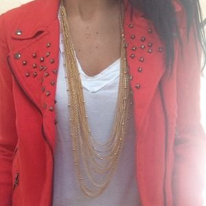 Bloomingdales statement necklace