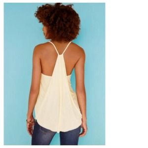 Tops - Drape Back Asymmetrical Tunic Tank