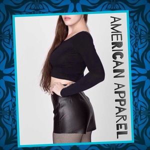 American Apparel Pants - 🆕American Apparel Genuine Leather Shorts