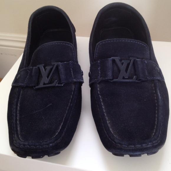 Louis Vuitton Mens Monte Carlo Loafers