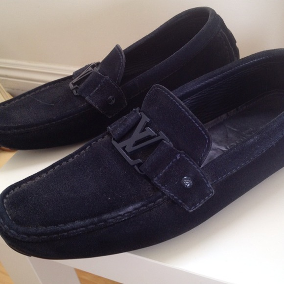 57% Off Louis Vuitton Shoes - LOUIS VUITTON Mens Monte Carlo Loafers From Rozitau0026#39;s Closet On ...