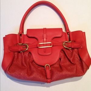 Jimmy Choo Coral Satchel..BETTER THAN NEW