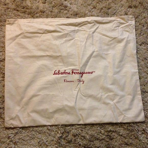 b607765dea11 Authentic Ferragamo Dust Bag - XL. NWT. Salvatore Ferragamo