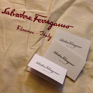 1464f336663b Salvatore Ferragamo Bags - Authentic Ferragamo Dust Bag - XL