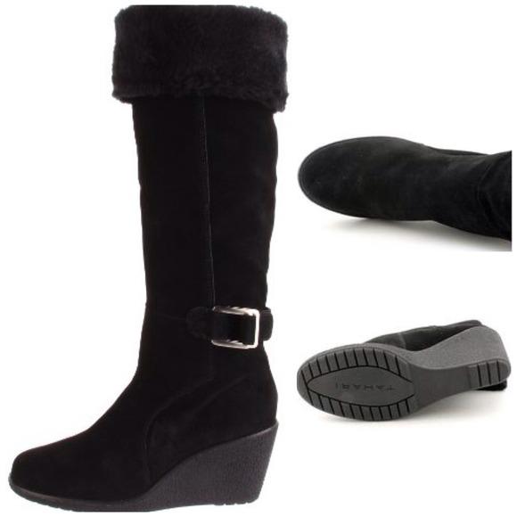 78 tahari shoes sold tahari black suede leather