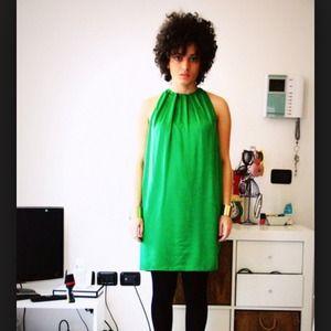 Zara green dress👗