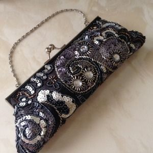 Gorgeously embellished clutch