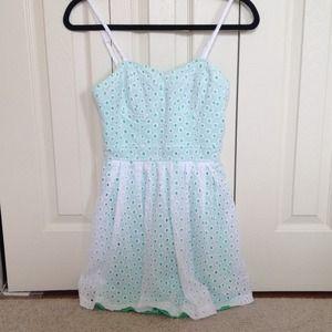 As U Wish Dresses & Skirts - Eyelet Dress